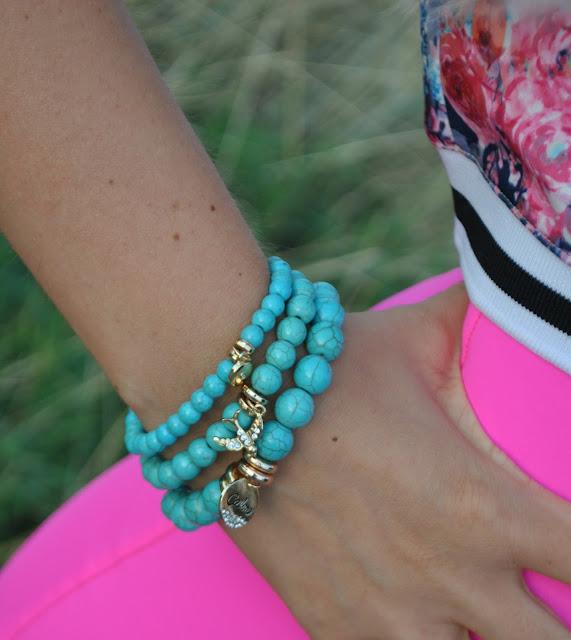 bracciali majique bracciali azzurri bracciali con turchese bracciali con charm come abbinare i bracciali azzurri abbinamenti bracciali turchesi bracciali estivi bracciali majique estate 2015 summer braceletsmajique london bracelets summer accessories how to wear light blue bracelets oceanic jewellers