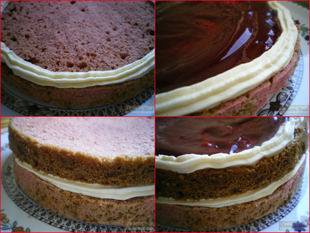 Vamp Attack Cake (montaje de la tarta)