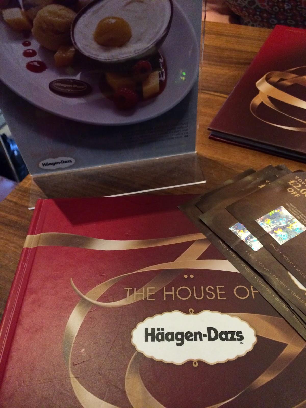 Ginger's Jollies: Haagen-Dasz