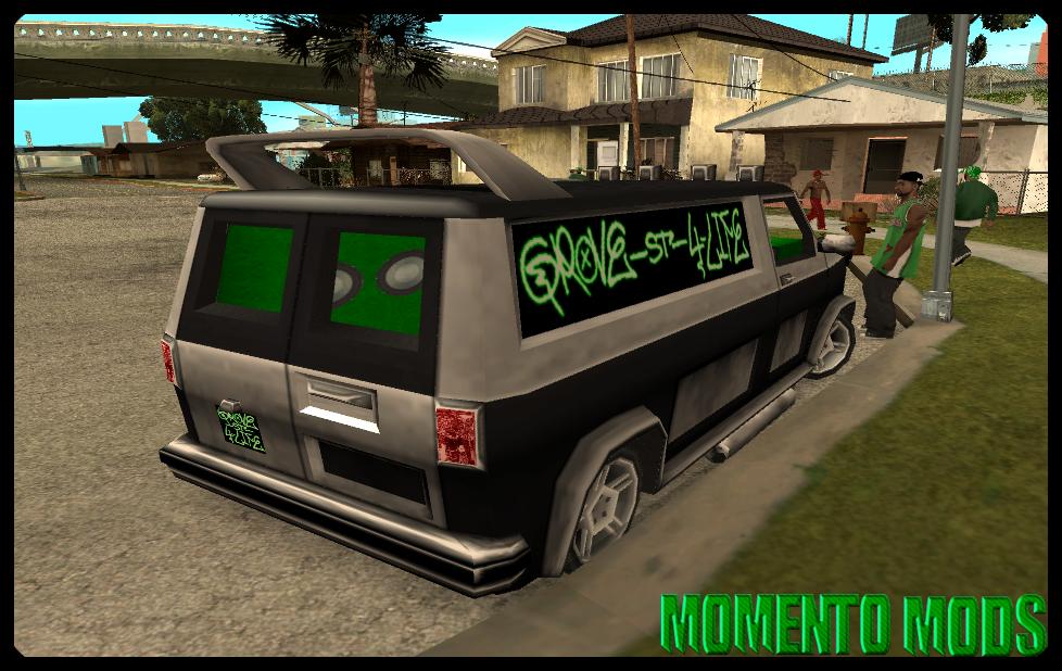 GTA SA - Van Da Grove Street Gang