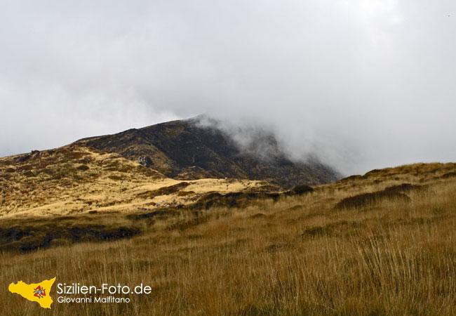 Der Eselsrücken auf dem Vulkan Ätna