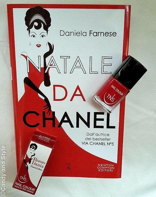 Natale da Chanel, Daniela Farnese | TNS Cosmetics Rosso Dania Limited Edition Nail Lacquer