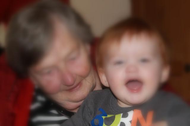 Ur-Oma und Ur-Enkel