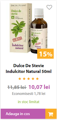ÎNDULCITOR NATURAL 100%