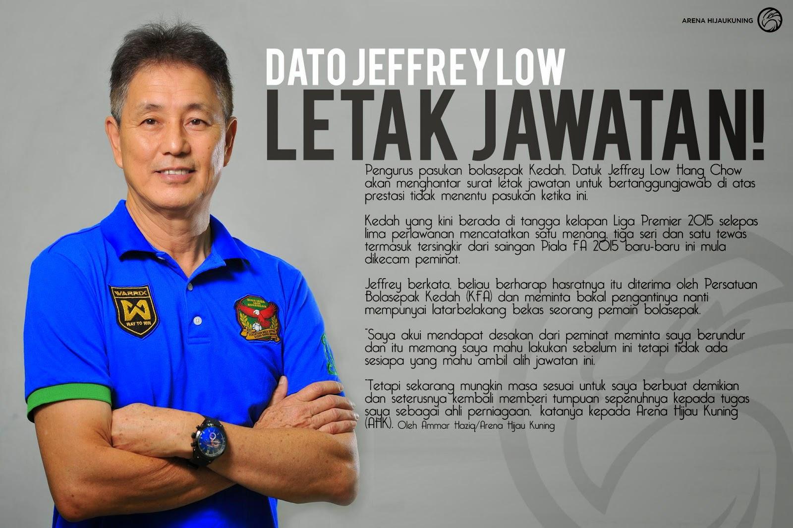 DATO' JEFFREY LOW HAN CHAW