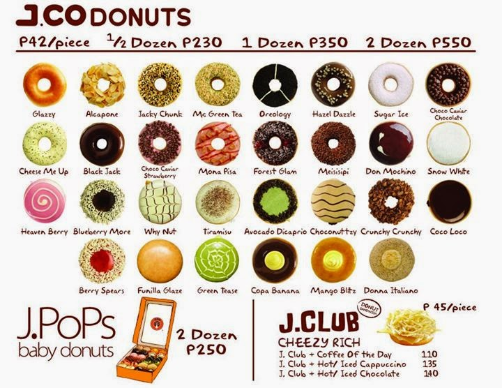 J.CO-Donuts-Menu