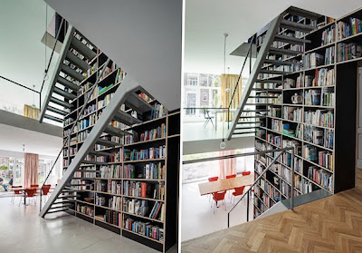 Rak Buku Sebagai Pembatas Antar Ruang 2