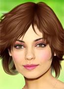 Макияж для Милы Кунис - Онлайн игра для девочек