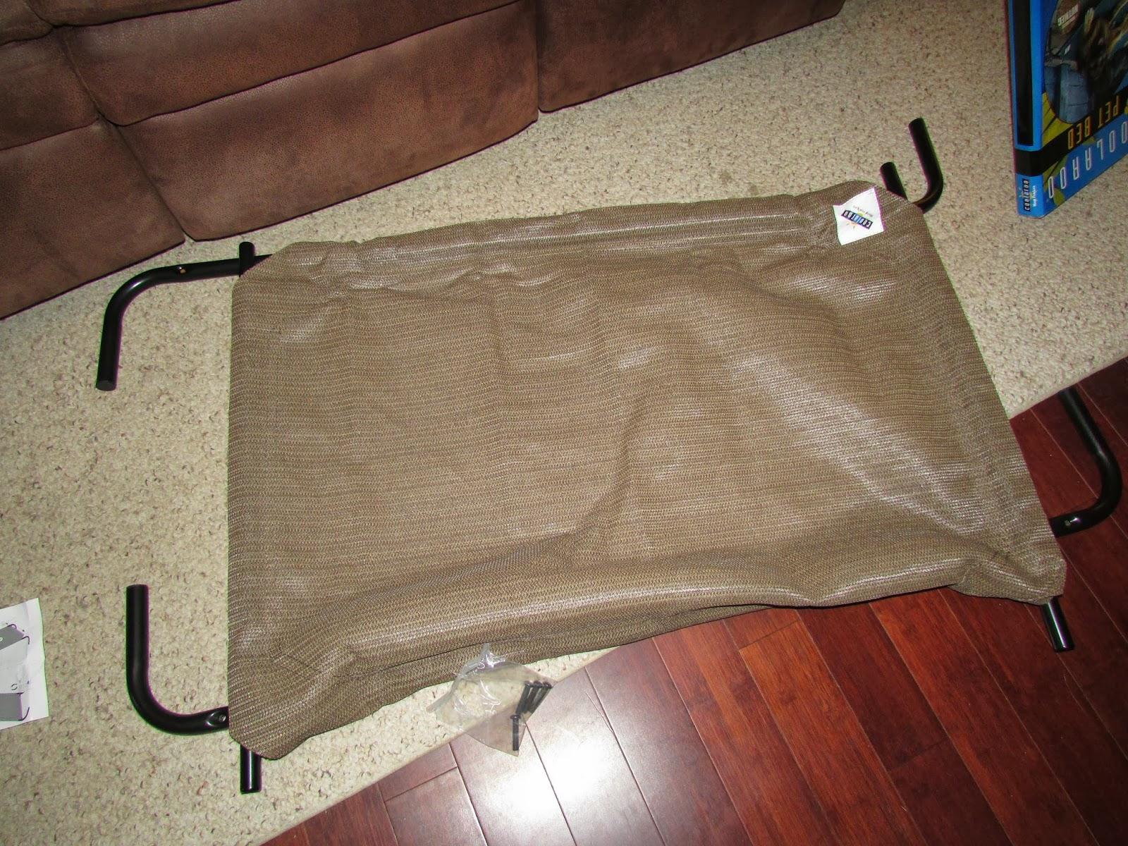 coolaroo kuranda style elevated dog bed review