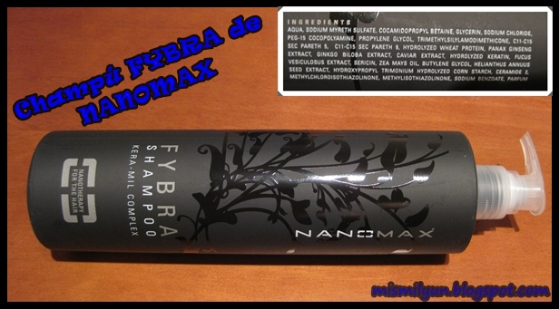 shampoo nanomax fybra