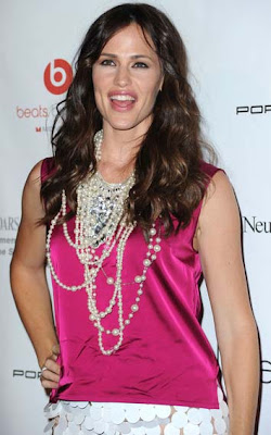 Jennifer Garner Pearl Beaded Necklace