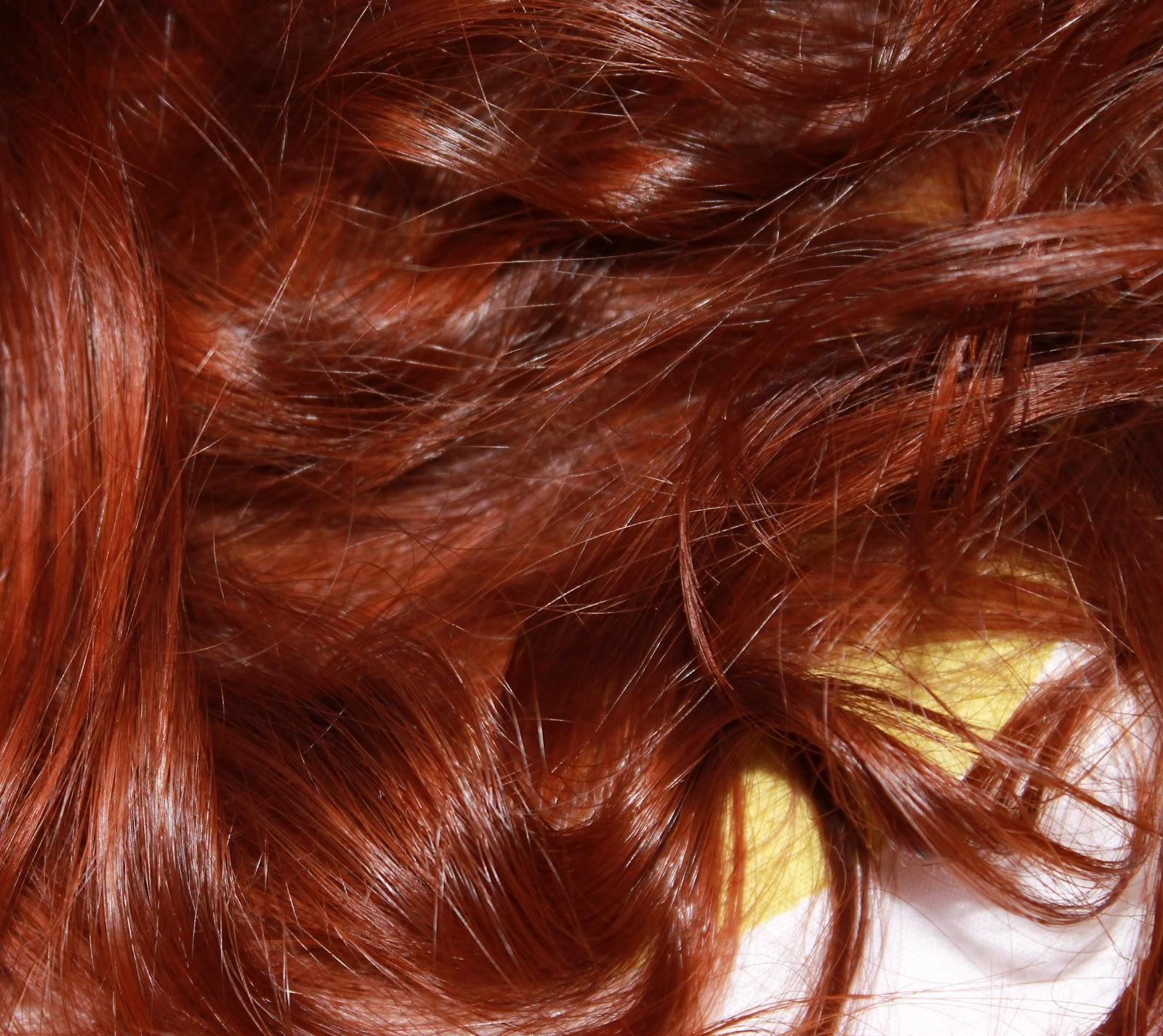 Couleur de cheveux au henne