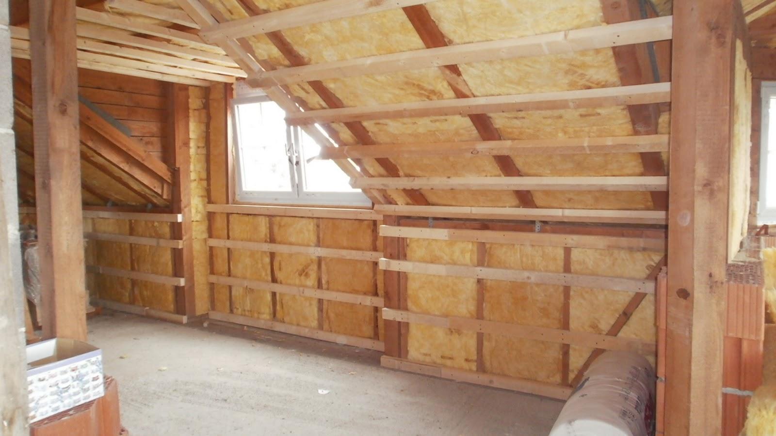 heimwerker dachbodenausbau unterkonstruktion mit holz und dampfbremse. Black Bedroom Furniture Sets. Home Design Ideas