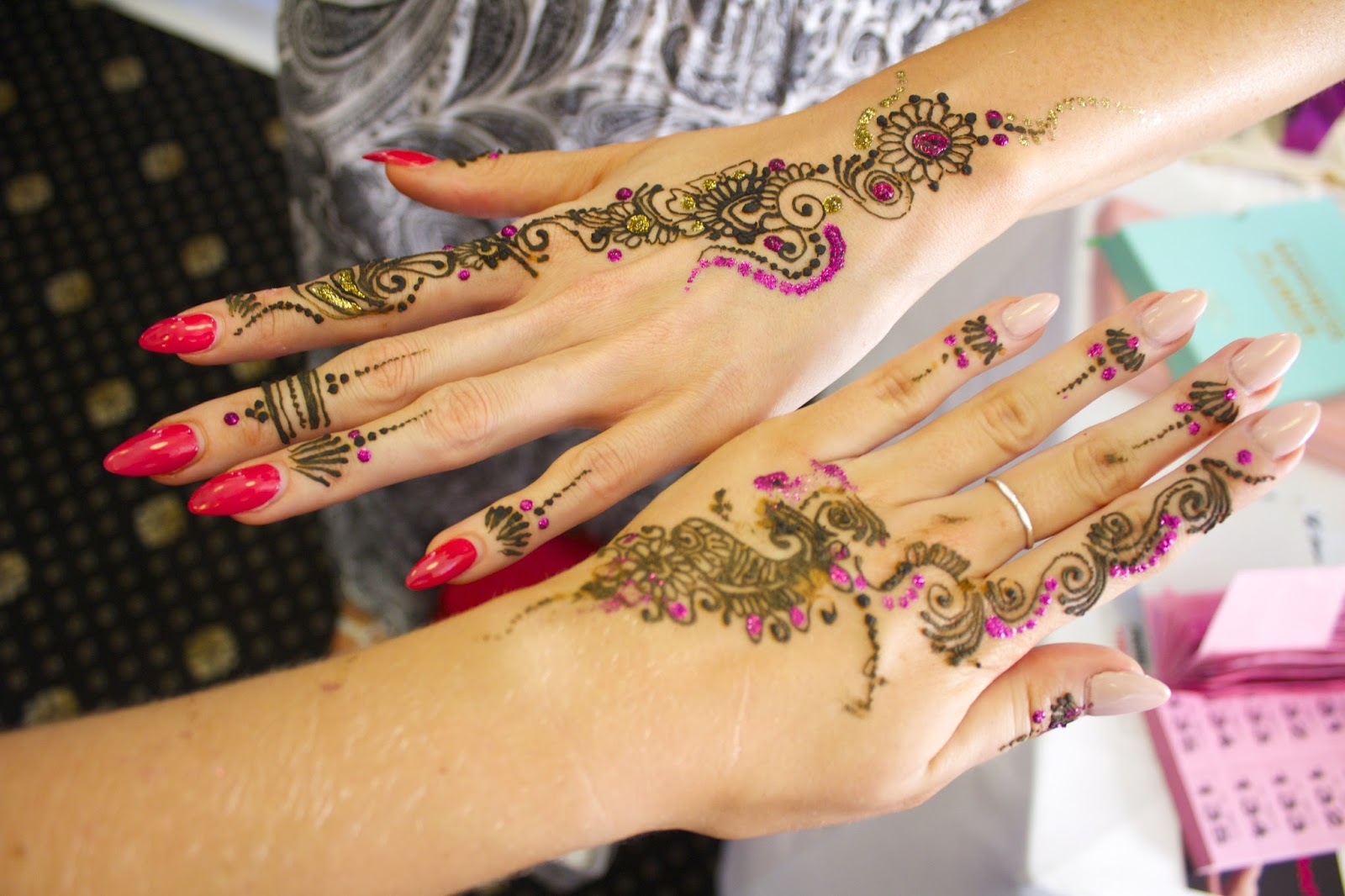 Henna at the Big Blogger Conference London