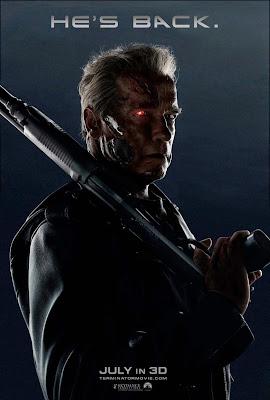 Terminator Genisys Poster Arnold Schwarzenegger
