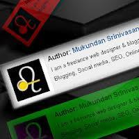 Cara Membuat Author Box di bawah postingan