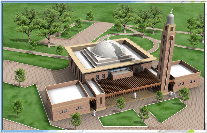 3D Mosque of Muslim Dubai Project ,,3D مسجد مسلم دبي ...