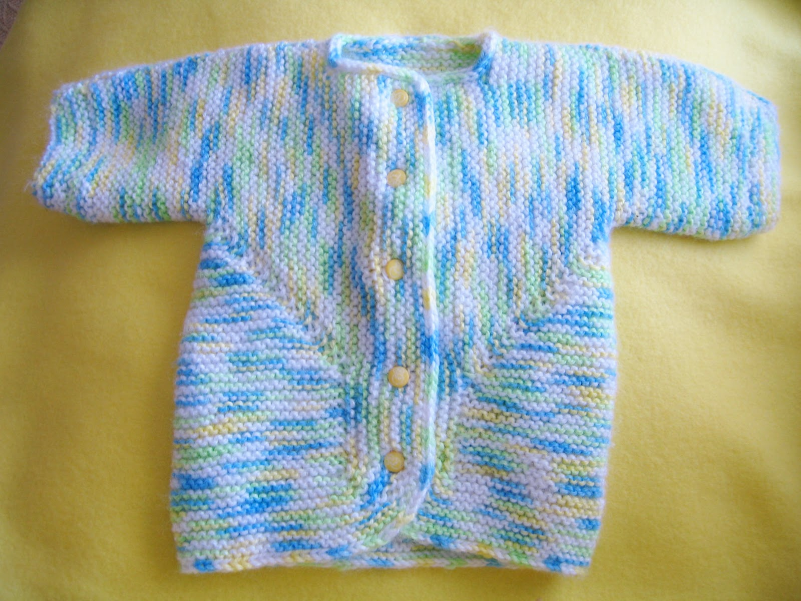 Crochet Surprise Jacket Free Pattern : Knitting By The Ocean: Baby Surprise Jacket