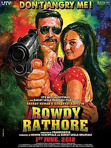 Rowdy Rathore (2012 - movie_langauge) - Akshay Kumar, Sonakshi Sinha, Nasser, Paresh Ganatra, Supreeth Reddy, Jayant Gadekar, Kareena Kapoor, Vijay, Prabhu Deva, Maryam Zakaria, Shakti Mohan, Mumait Khan