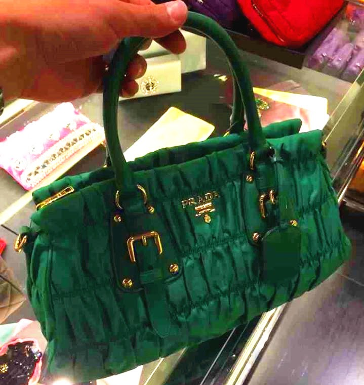 prada backpack leather - Neo LUXuries: PRADA Tessuto Gaufre\u0026#39; Top Handle Bag - BN1407 ...