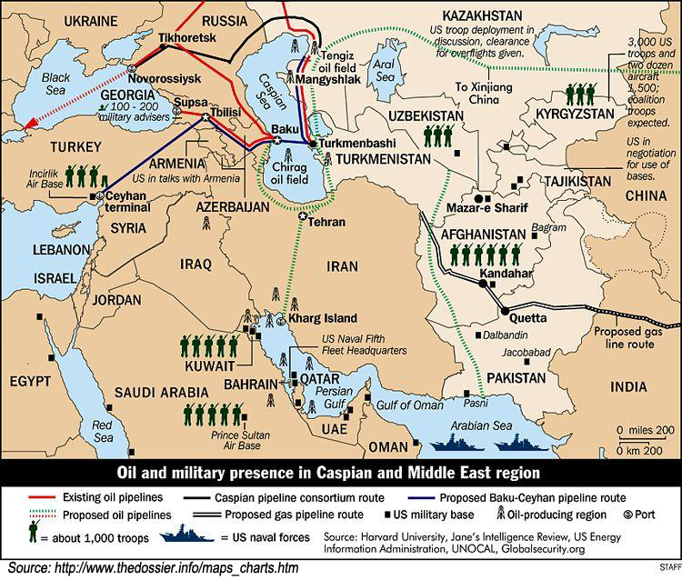 War News Updates Senior Iranian Parliamentarian US Military - Georgia map military bases