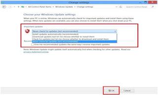 Cara Mematikan Auto Update Windows 8