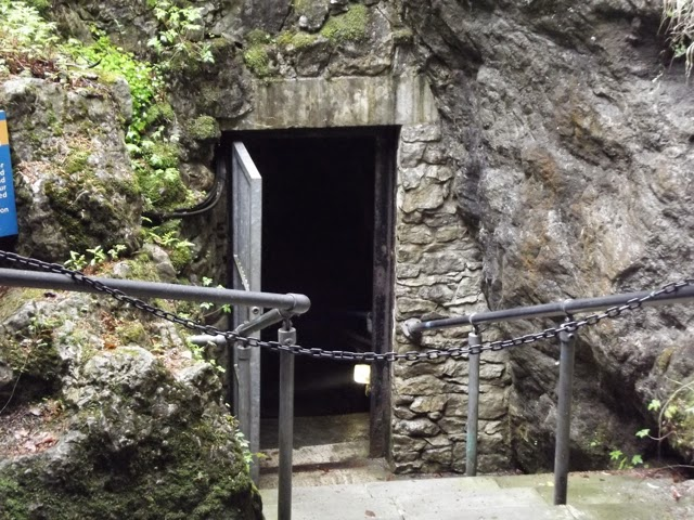 Entrance to Masson Cavern Heights of Abraham