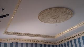 ديكور الجبس غرف أسقف المنزل وغرف نوم 2014