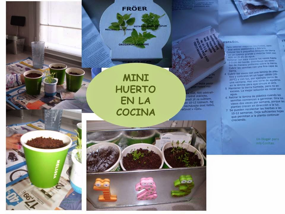 Un hogar para mis cositas mini huerto en la cocina - Bolsa nevera ikea ...