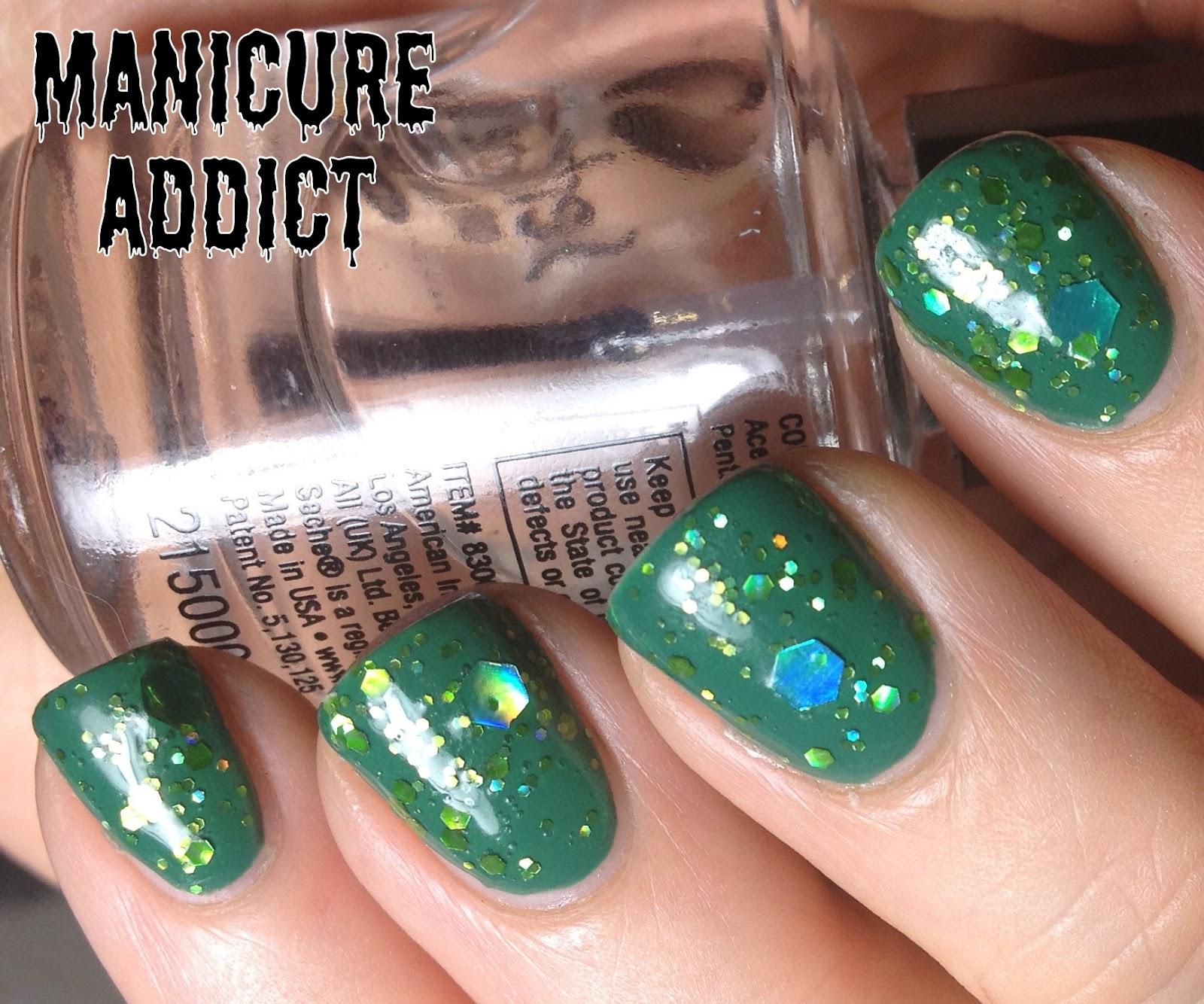 manicure addict nyx enchanted forest