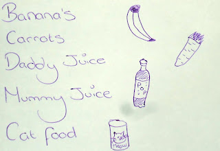A shopping list to help make shopping more fun!