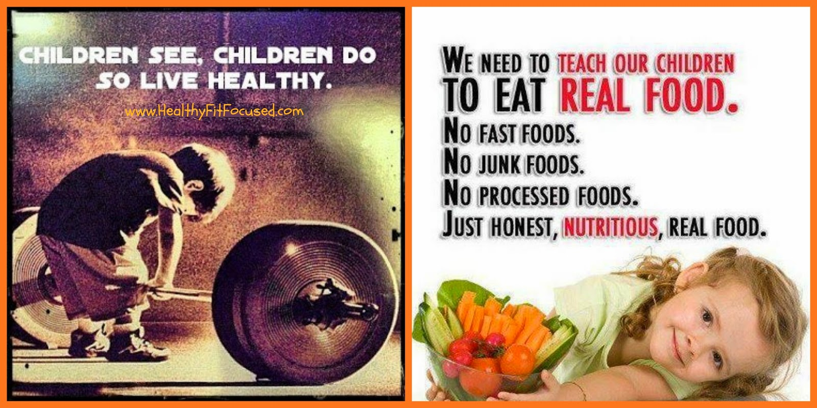Healthy Children, www.HealthyFitFocused.com