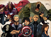 One Piece Avengers by AndiMoo[deviantART] (one piece avengers by andimoo llm)