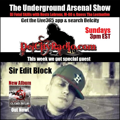 https://www.mixcloud.com/DelCityRadio/the-underground-arsenal-show-with-special-guest-sir-edit-block/