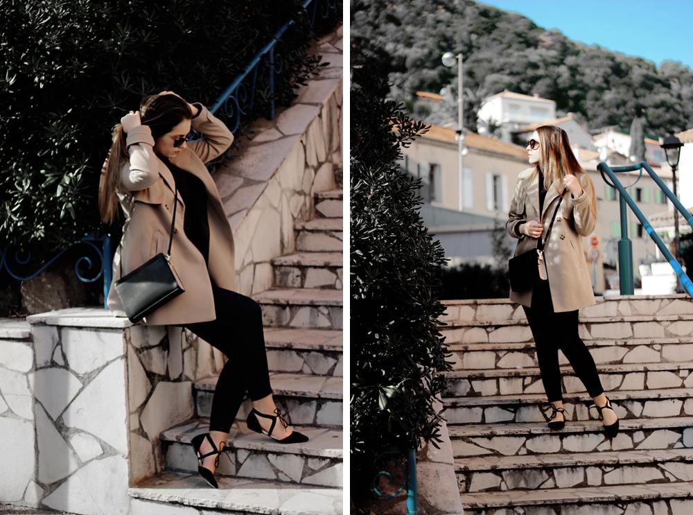 Oasis skinny rib polo aimerose fashion blog