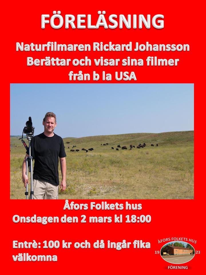 Föreläsning- Rickard Johansson