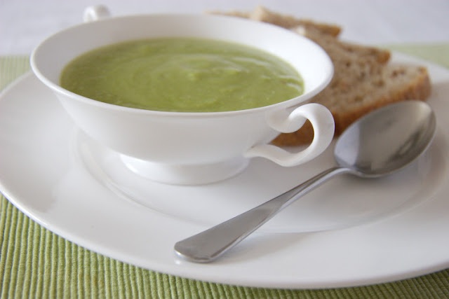 Parsnip, Pea &amp; Anise Soup Recipe
