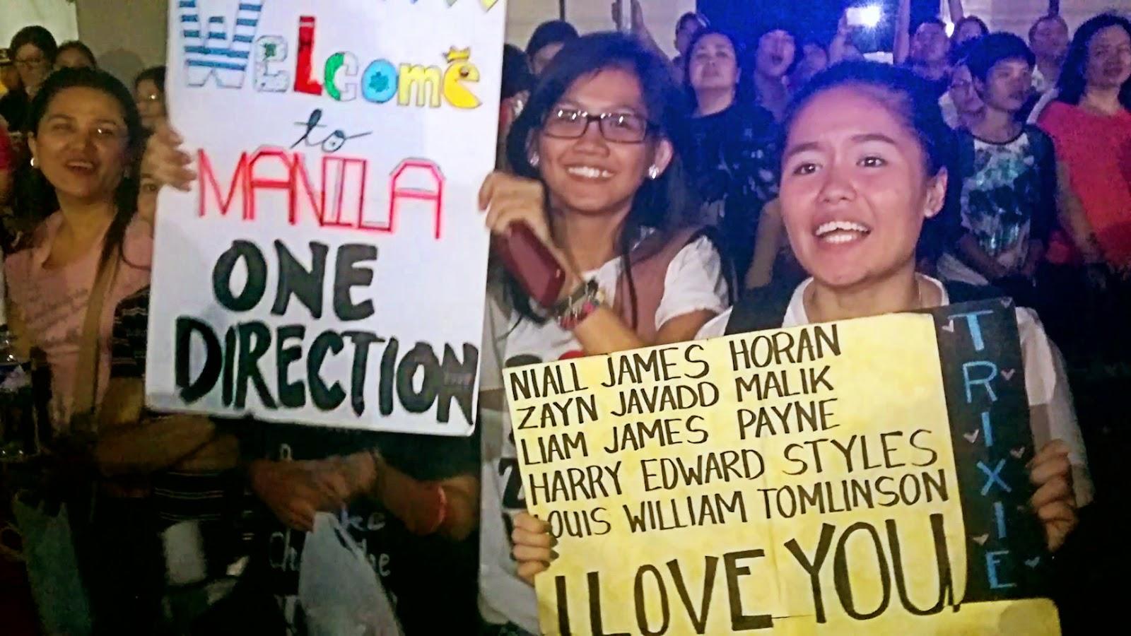 1D fans in Manila