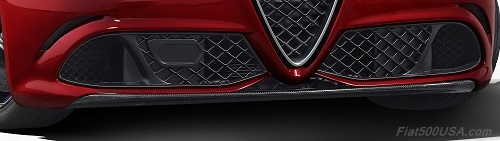 Alfa Romeo Giulia Quadrifoglio Active Aero Splitter
