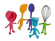 utensílios de cozinha...