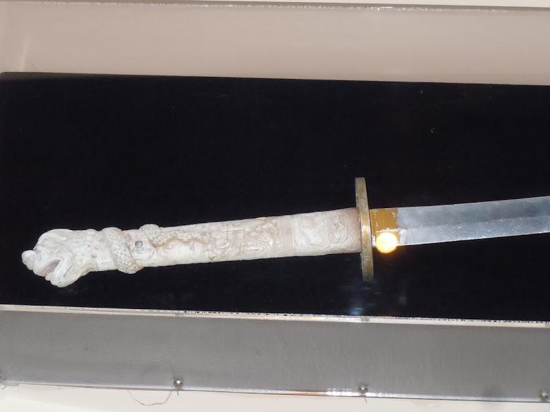 Highlander samurai sword hilt