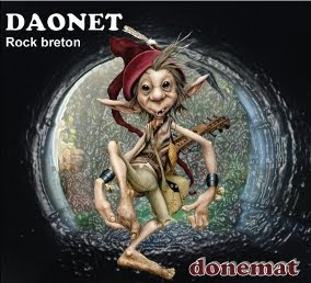 Album Donemat du trio nantais Daonet
