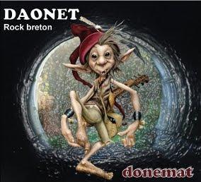 Album Donemat du trio nantais Daonet