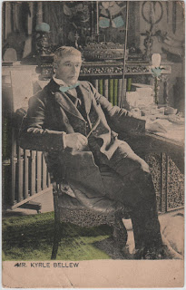 Vintage postcard of Mr Kyrle Bellew, c.1904