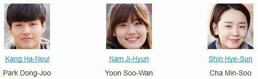 Kong Hyung-Jin, Seung-Ri Juan, Kim Yeo-Jin, Seo Tae-Hwa