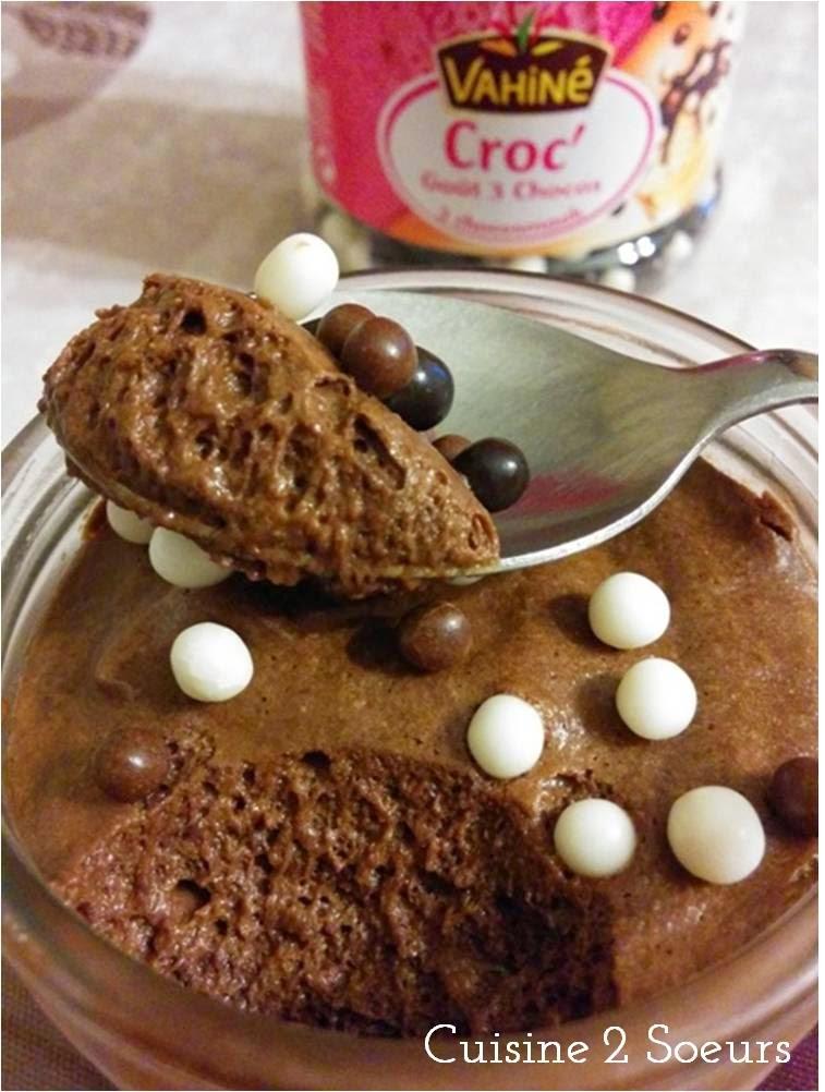 Cuisine 2 soeurs mousse au chocolat de pierre herm for Mousse au chocolat pierre herme
