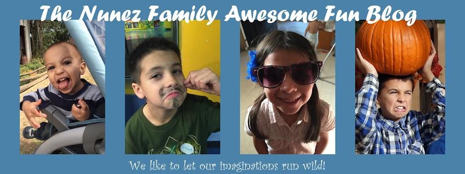 The Nunez Family Awesome Fun Blog