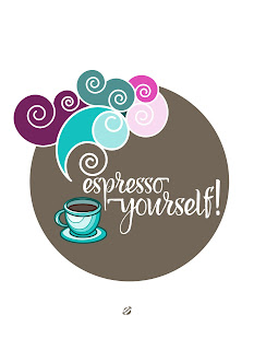 LostBumblebee @2015 MDBN : Espresso Yourself! Coffee Love : Free Donate to download Printable : Personal Use Only.