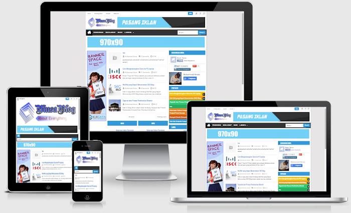Teknologi Seo Blogger Template Responsive
