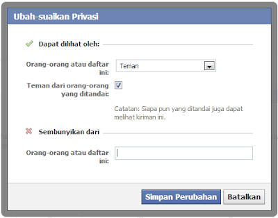 setting privacy facebook1